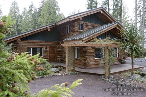 cool log cabins a really cool log home log home builders association