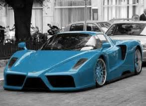 enzo blue pictures of cars hd