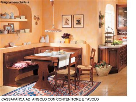 cassapanca cucina cucina con cassapanca angolare con tavolo n 81 c h