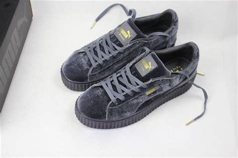 Fenty Rihanna Grey Size 40 Uk Wanita rihanna x fenty creepers blue www motionyz sneakers shop