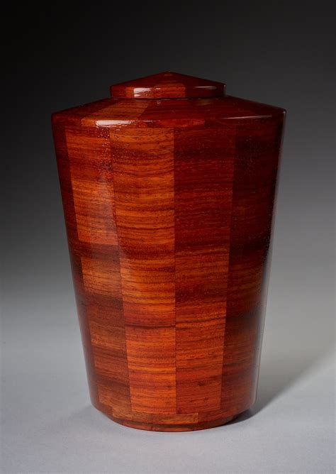 cremation urns padauk wood cremation urn
