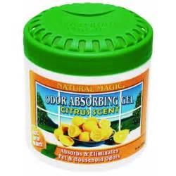 Air Freshener Absorbing Gel 3 Pk Magic Odor Absorbing Citrus Room Freshener
