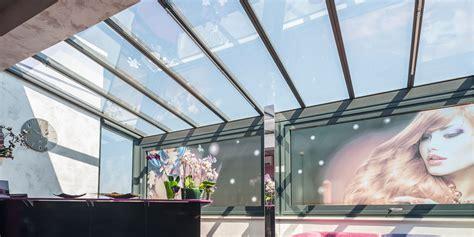 coperture per verande veranda in alluminio con tetto fisso copertura in vetro