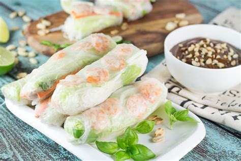 Would You Rather Eat Fresh Or Fried Rolls by Goi Cuon Fresh Rolls With Hoisin