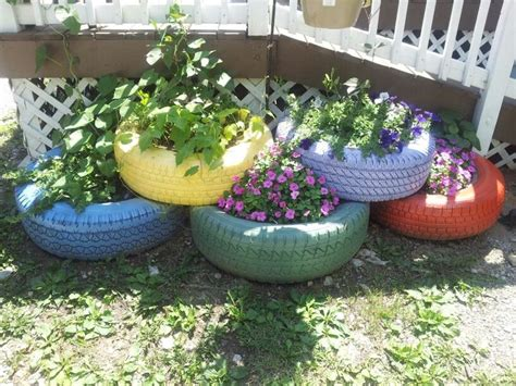 tire flower beds 17 best images about garden schtuff on pinterest lattice