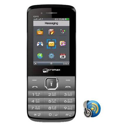 mobile price micromax micromax x2410 mobile price specification features