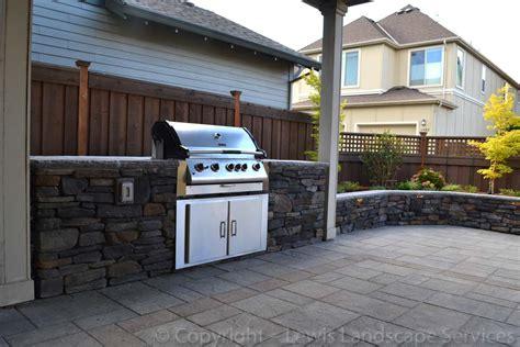 Custom Built Kitchen Islands by Lewis Landscape Services Outdoor Living Spaces Portland