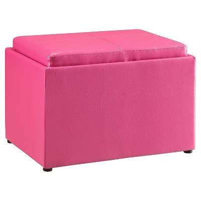 pink ottoman target storage ottoman pink convenience concepts target