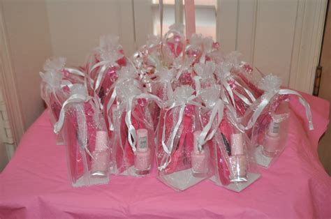 Nail Favors Baby Shower nail favors on invitations ideas