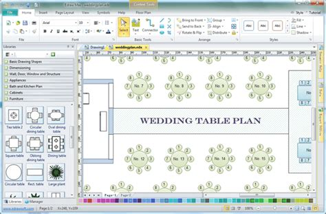 wedding seating chart editable text rustic kraft wedding seating