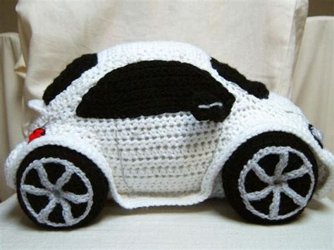 crochet pattern vw beetle crocheting crocheted beetle car if only this was a red