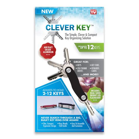 as seen on tv clever key keychain organizer shop your way shopping earn points on
