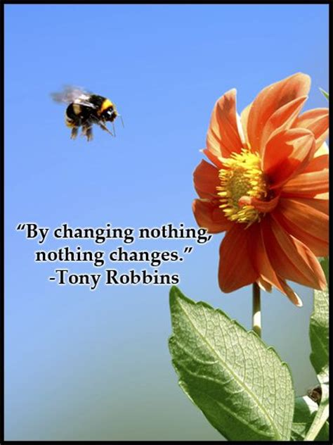 Tony Robbins Detox by By Changing Nothing Nothing Changes Tony Robbins