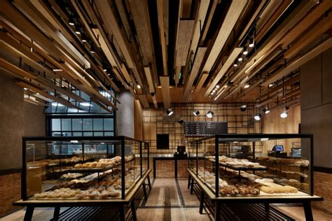 with wheat bakery by golucci international design beijing china 187 retail design blog