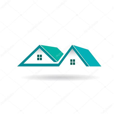 Eco Homes Plans Houses And Roofs Logo Stock Vector 169 Deskcube 63913877