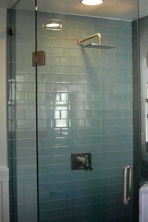 25 best ideas about glass tile bathroom on pinterest tiles subway tile bathroom idea subway tile bathroom