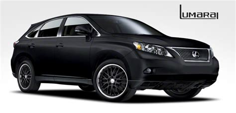 matte black lexus rx 350 lumarai wheels for lexus tires authorized dealer of