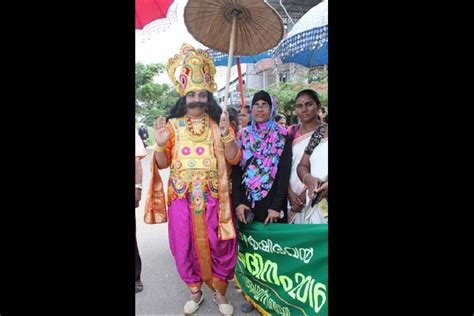 Mavali Dress why should all the meet this maveli from kerala the news minute