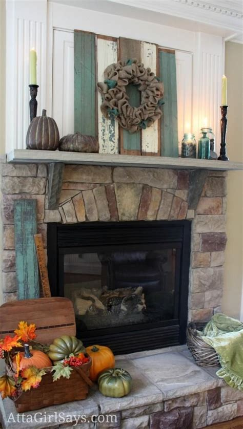 17 best ideas about fall mantel decorations on pinterest