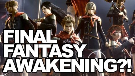fb final fantasy awakening wtf is final fantasy awakening youtube
