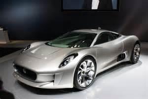 Electric Jaguar Jaguar Unveils C X75 Electric Concept Car