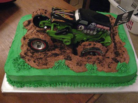 grave digger truck cake grave digger cakecentral com