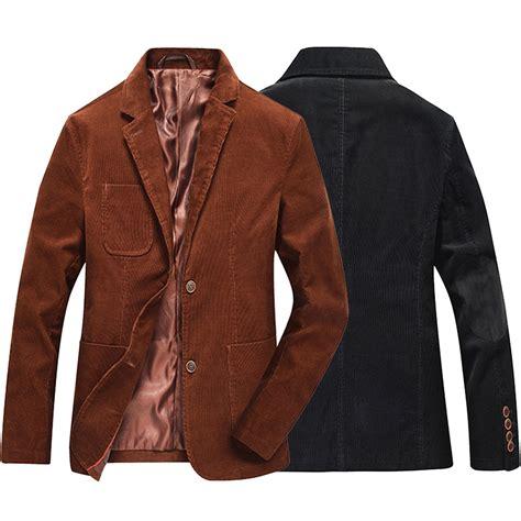 jas blazer jaket casual style blue fashion brand winter business suit jacket coat retro
