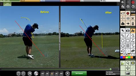 v1 golf swing analysis v1 video analysis jon bullas golf instruction