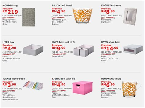 Ikea Malaysia ikea family 1 day sale preview home furniture sale in malaysia