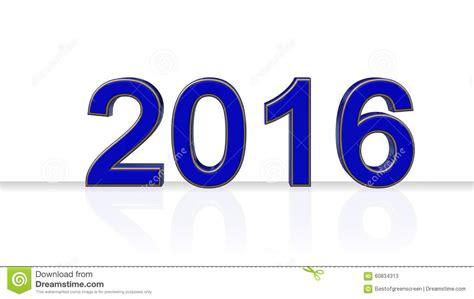new year number 2016 year number new year stock illustration image