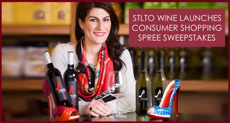 Shopping Spree Sweepstakes 2014 - stlto wine launches luxury shopping spree sweepstakes