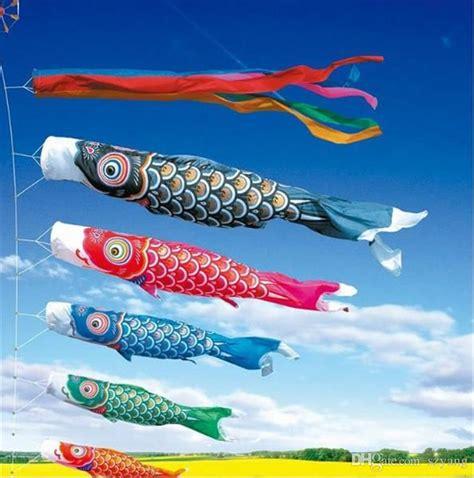 pattern for japanese fish kite discount japanese carp windsock streamer fish flag kite