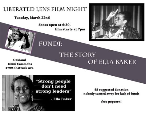 the story of the great bake books liberated lens fundi the story of ella baker