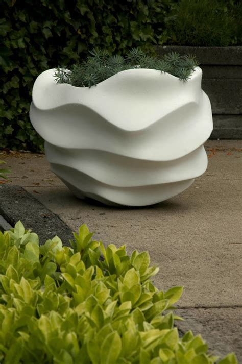 Modern Outdoor Planters by 301 Moved Permanently