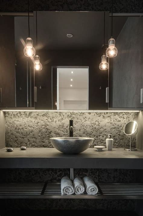 modern industrial bathroom 32 trendy and chic industrial bathroom vanity ideas digsdigs