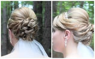hair updo shoulder bridal updo on shoulder length hair youtube