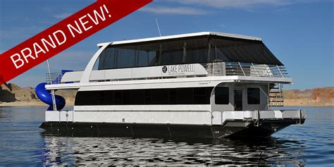 house boat rental lake powell deluxe houseboat rentals at lake powell resorts marinas in az ut