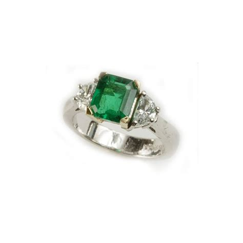 emerald and ring vardy s jewelers