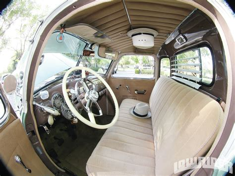 1949 Chevy Interior by 1949 Chevrolet 3100 Up Lowrider Magazine