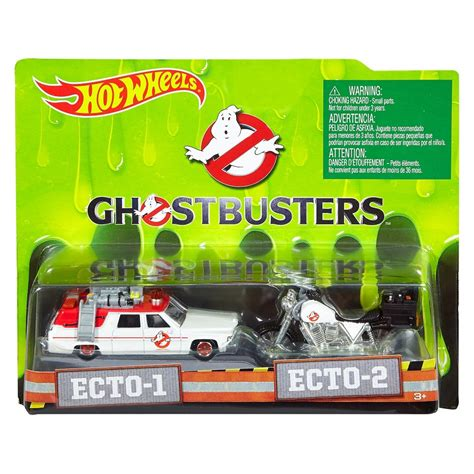 Wheels Ecto 1 Ghostbusters Car ghostbusters 2016 ecto 1 ecto 2 vehicle 2 pack shop