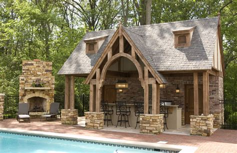 house plans with pools and outdoor kitchens outdoor pool and fireplace designs outdoor kitchen and