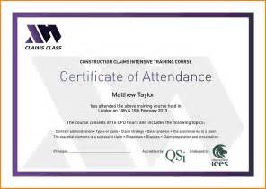 sle award certificates templates sle certificate of attendance template 28 images