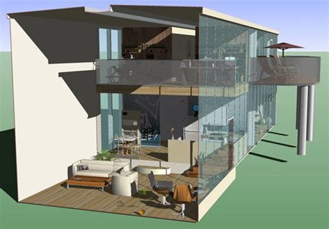 House Designing by Google Sketchup 6 Released By Baekdal Blog