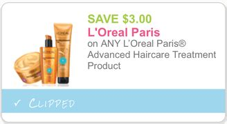 l oreal products 5 00 printable coupon new high value 3 1 l oreal advanced haircare treatment product printable coupon dapper
