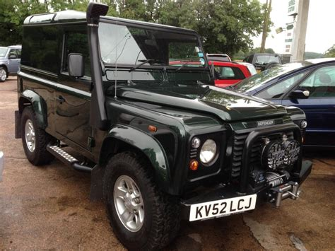 green land rover defender land rover respray and land rover restoration service