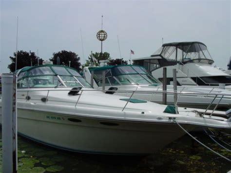 boat brokers harrison township mi 1995 sea ray 330 sundancer power boat for sale www