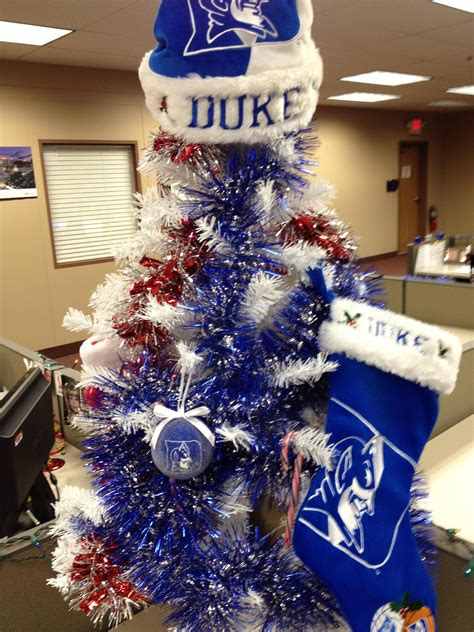 when annoying duke fan and annoying christmas decorations