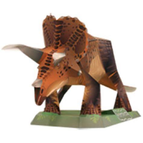 Creative Park Papercraft - la cueva t rex papercraft crea tu propio triceratops