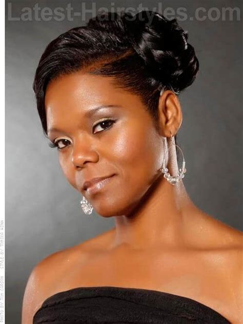 Side Swept Hairstyles For Black | 11 african american wedding hairstyles