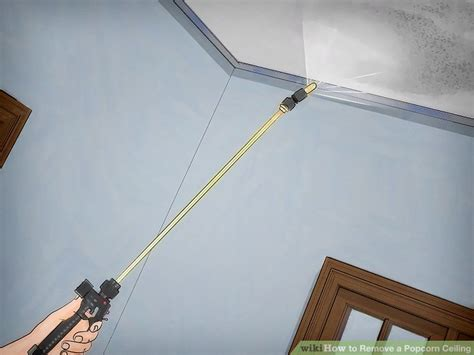 100 clean popcorn ceiling removal easy how to clean